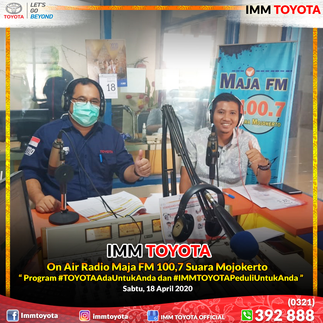 On Air Radio Maja FM 100.7 Suara Mojokerto