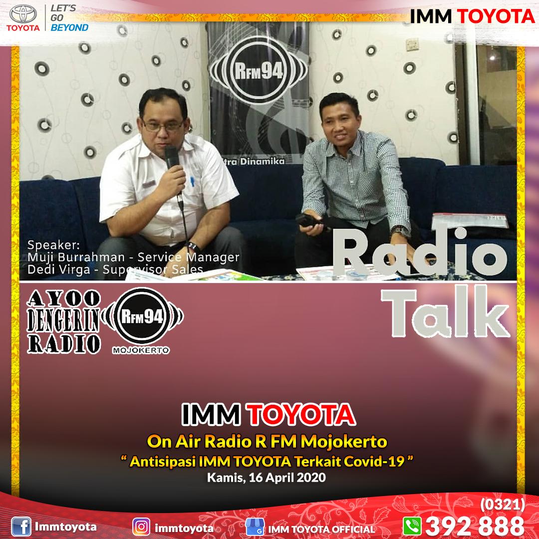 On Air Radio R FM Mojokerto