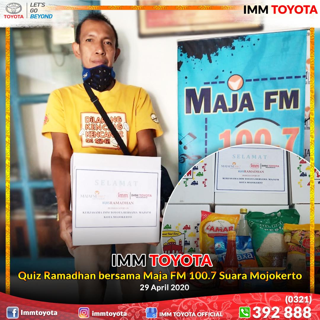 Quiz Ramadhan bersama Maja FM 100.7 Suara Mojokerto