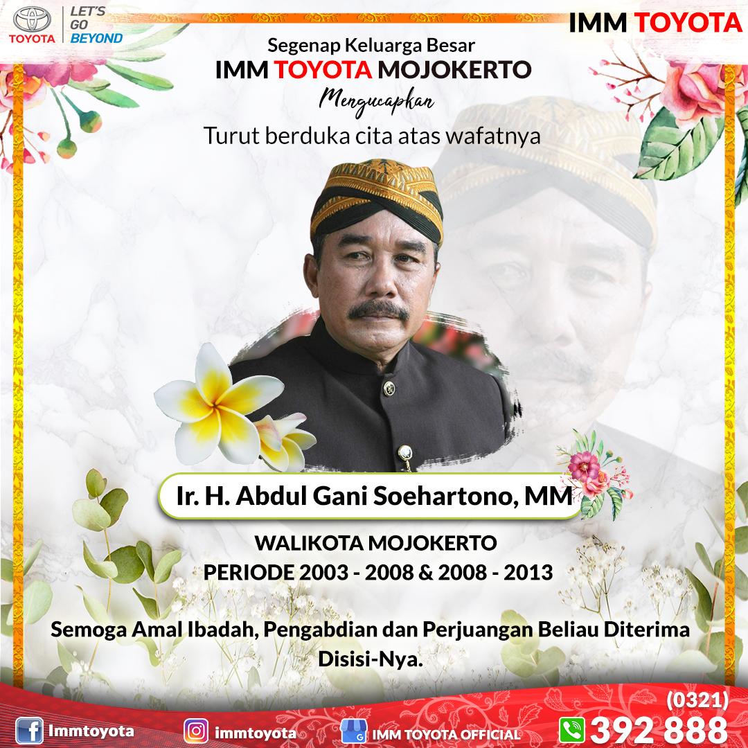 Selamat jalan Bp. Abdul Gani. Terima kasih atas perjuangan dan pengabdianmu.