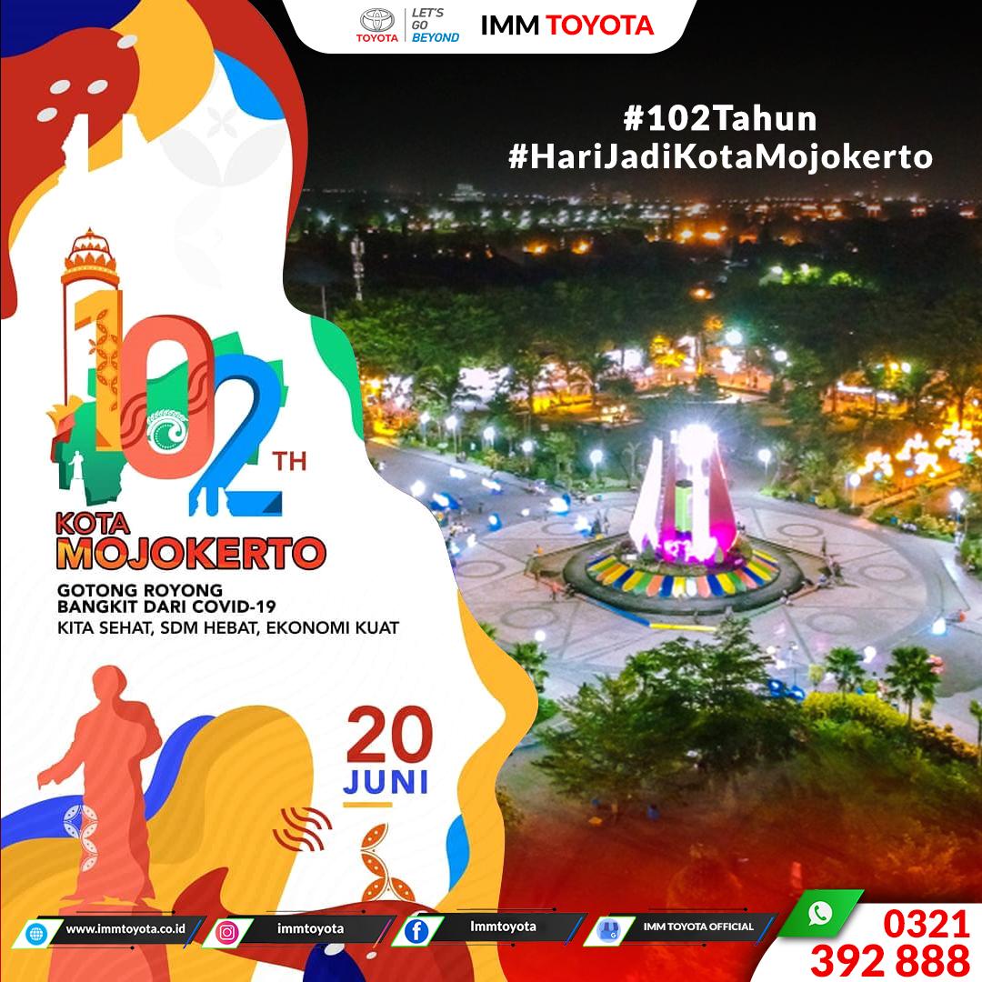 Hari Jadi Kota Mojokerto Ke-102 tahun
