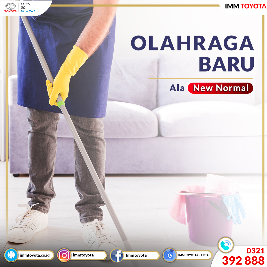 Olahraga baru ala new normal