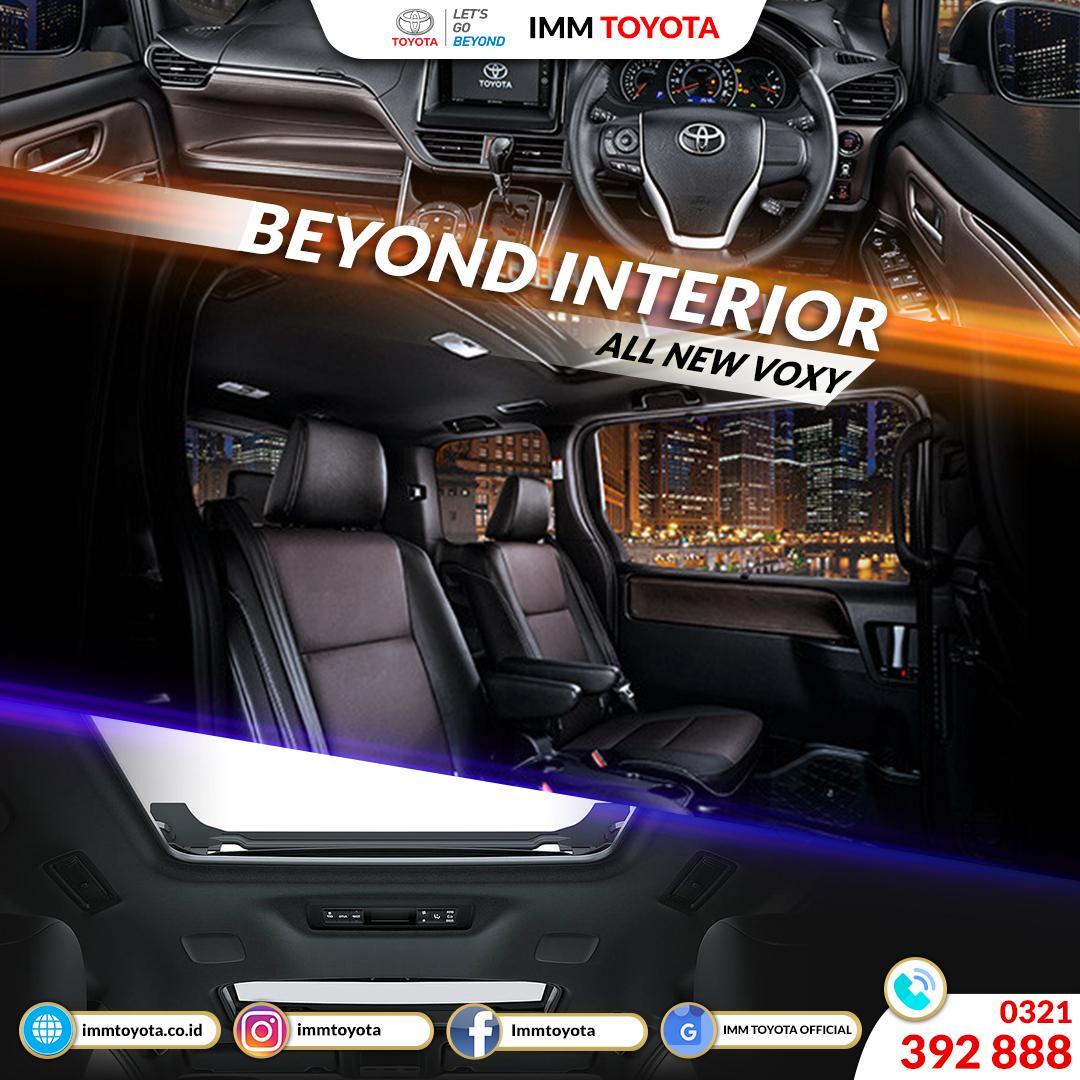 BEYOND INTERIOR! All New Voxy