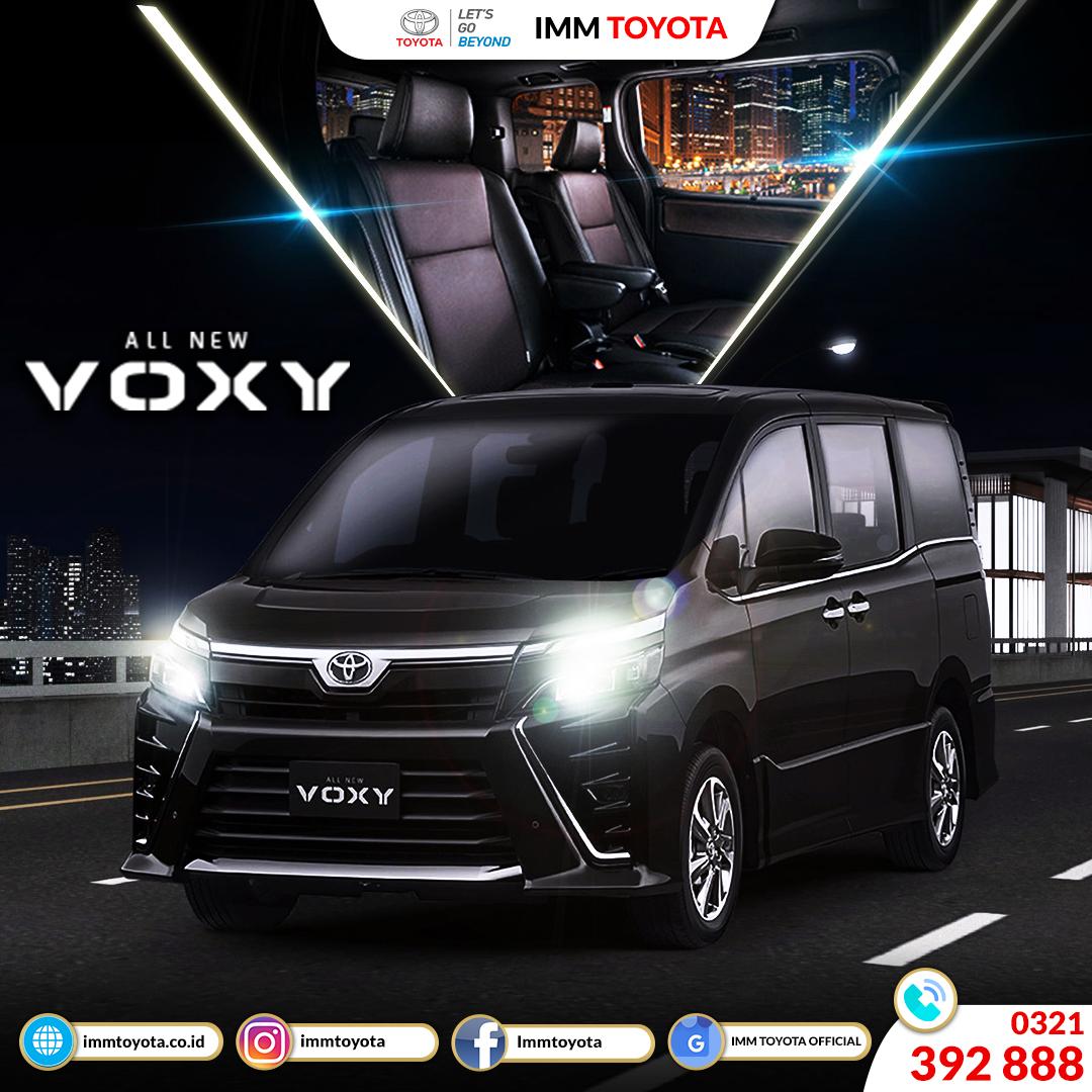 All New Voxy mobil keluarga premium yang mewah dan berkelas.