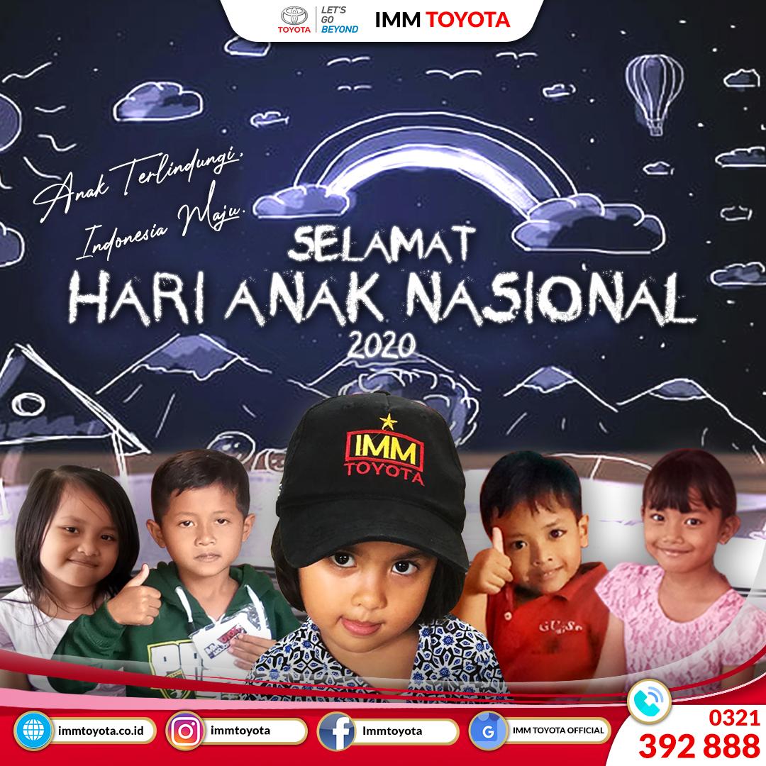 Selamat Hari Anak Nasional 2020