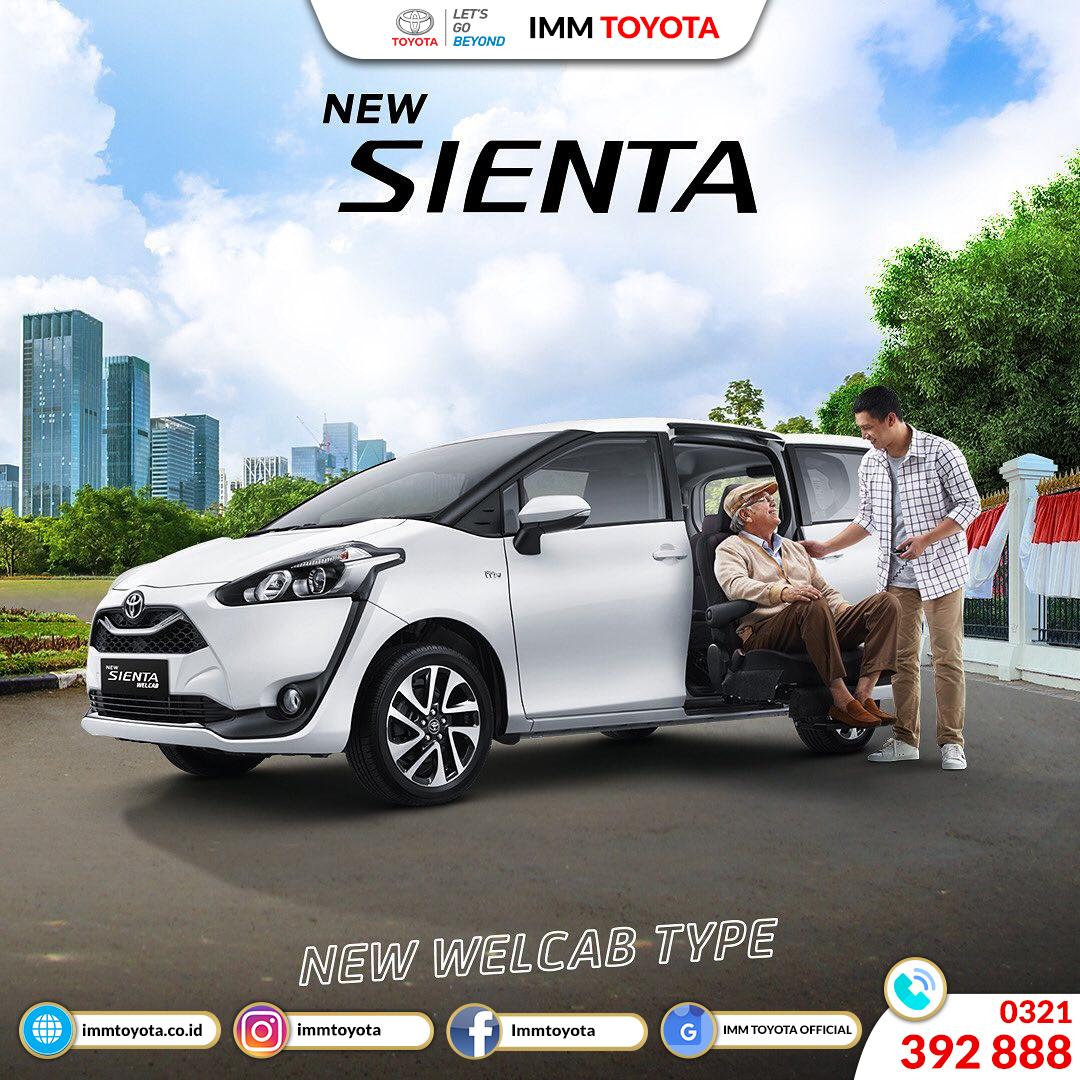 Toyota Kijang Innova TRD Sportivo Limited dan Sienta Welcab kini hadir!
