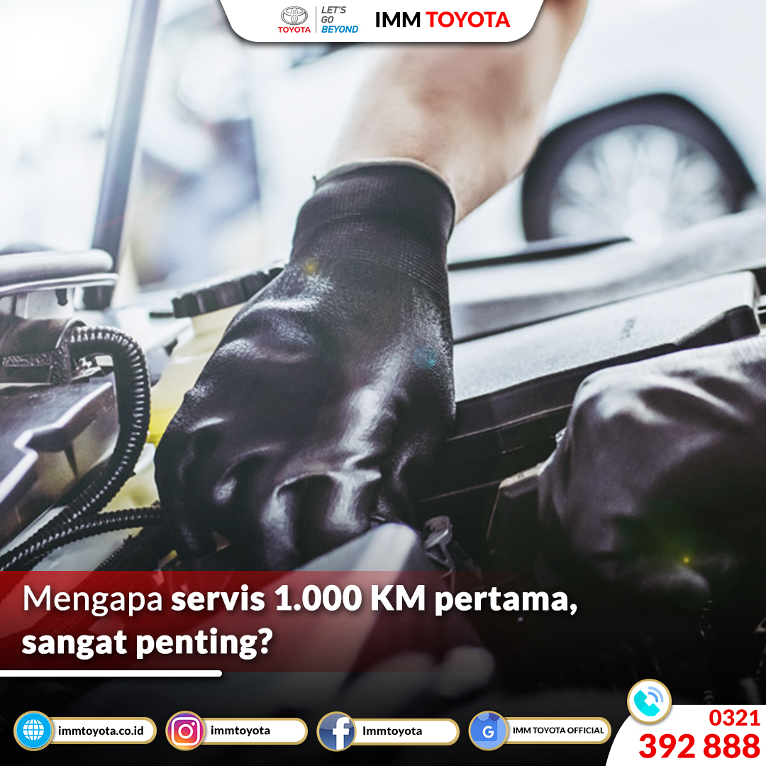 Mengapa Servis 1.000 KM Sangat Penting?