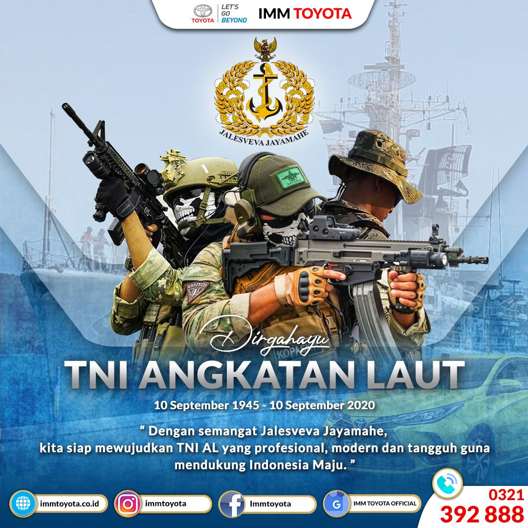 Dirgahayu TNI AL Ke - 75
