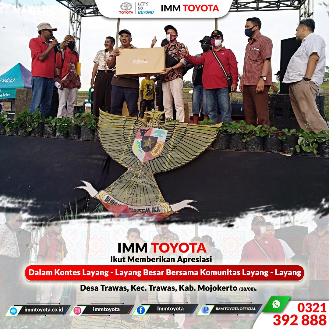 Kontes Layang - Layang Bersama Komunitas Layang - Layang (28/08).