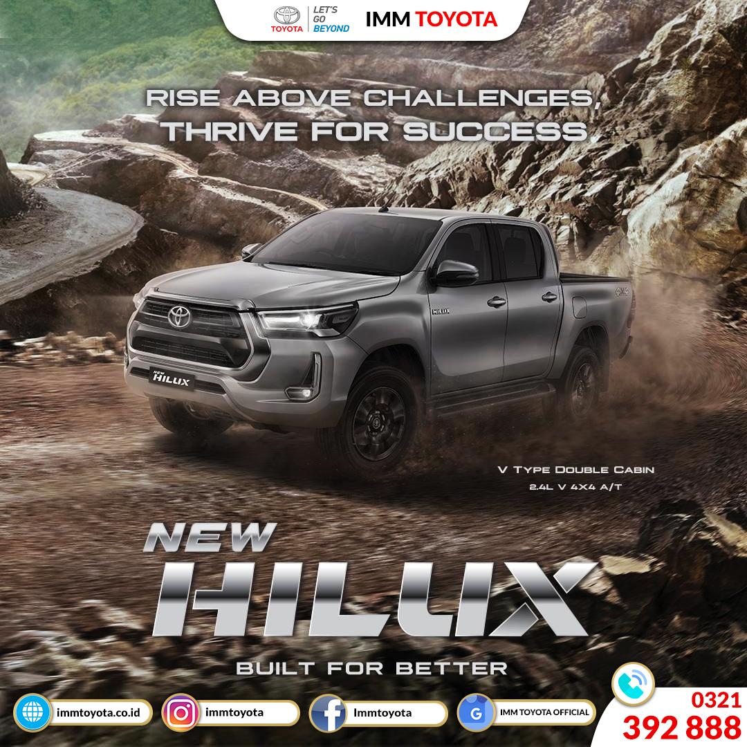 Siap menghadapi tantangan bersama New Hilux!