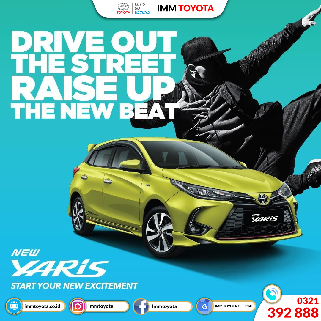 Toyota New Yaris is out!