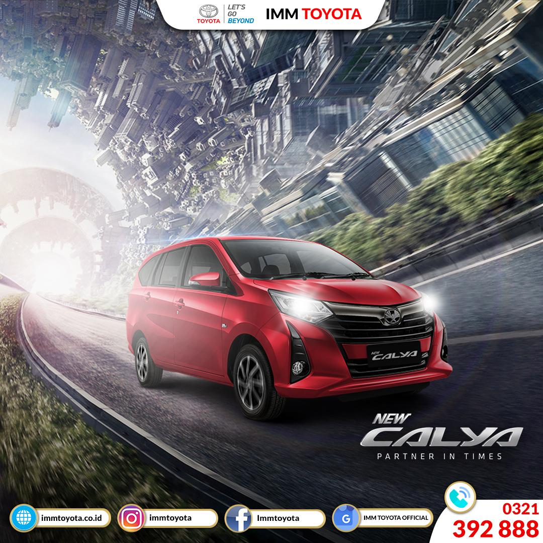 Toyota Calya hadir untuk keluarga Anda tercinta.