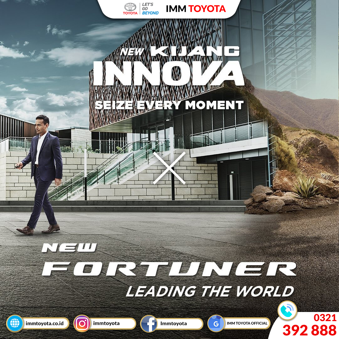 New Kijang Innova And New Fortuner Launching!