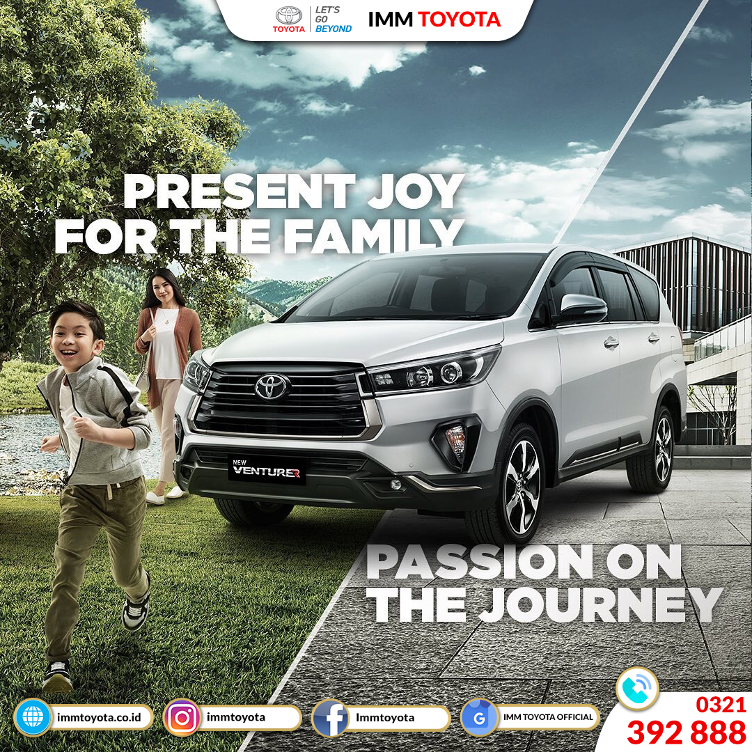 New Kijang Innova! Present Joy For The Family.