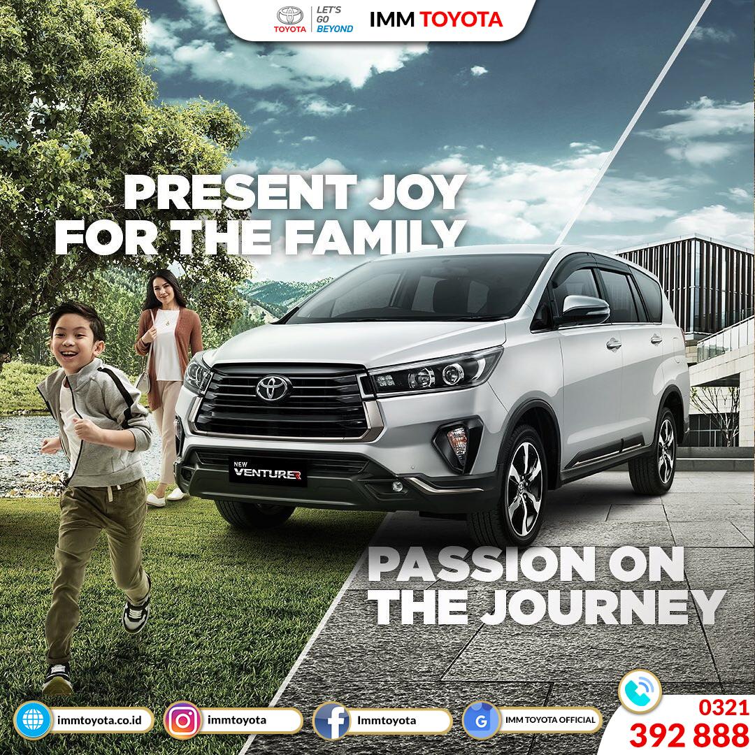 New Kijang Innova! Present Joy For The Family.