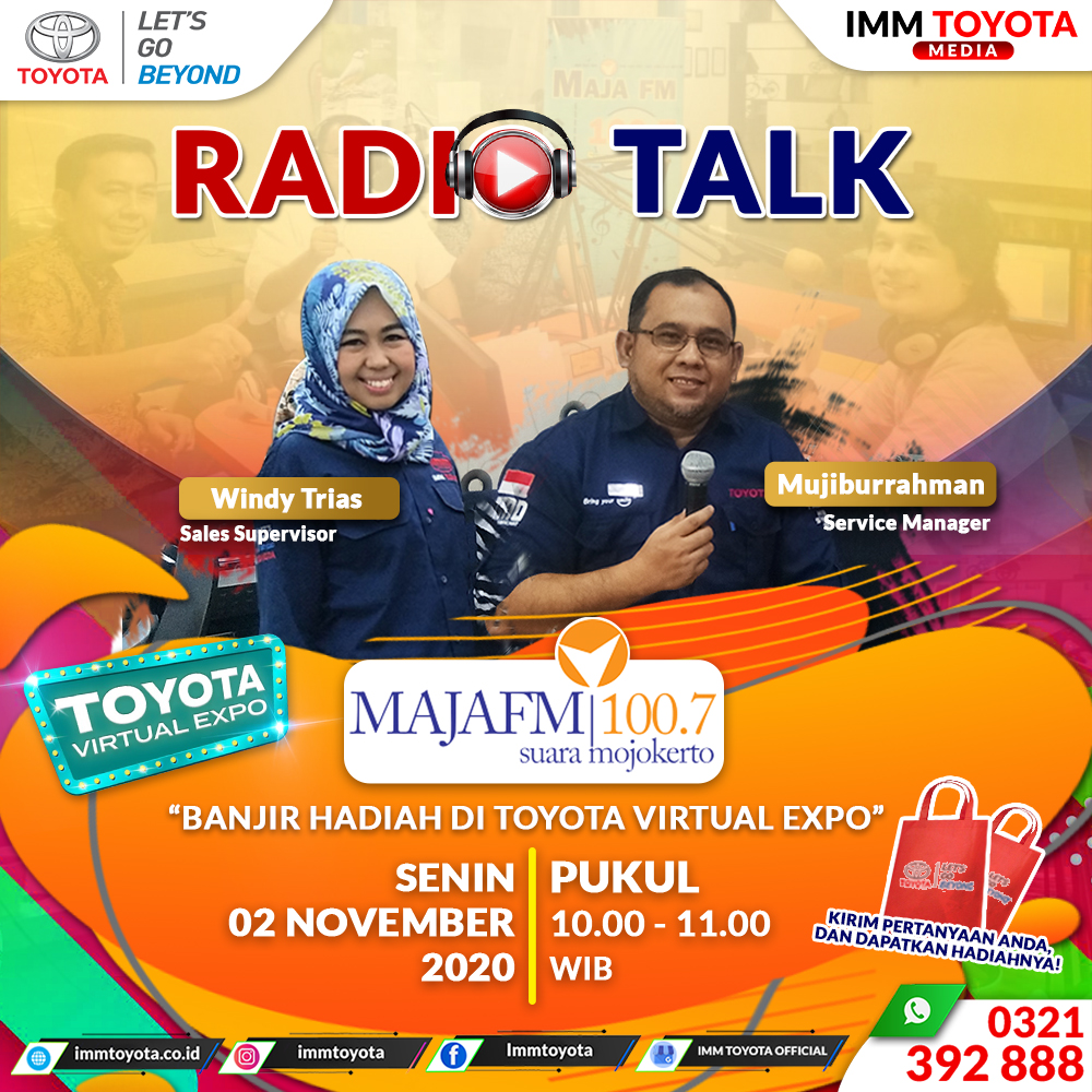 Don't Miss It! Radio Talk On Air Maja FM 100.7 FM.
