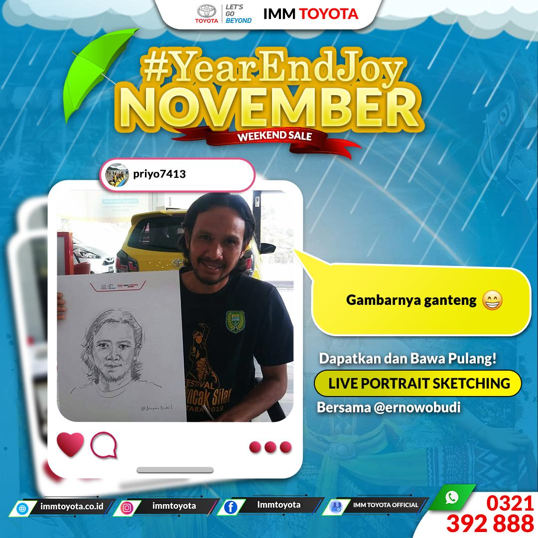 Year and Joy! November Testimoni