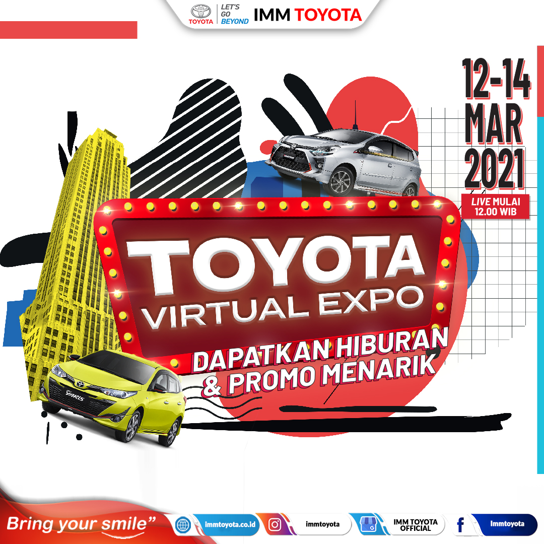 Toyota Virtual Expo is back!