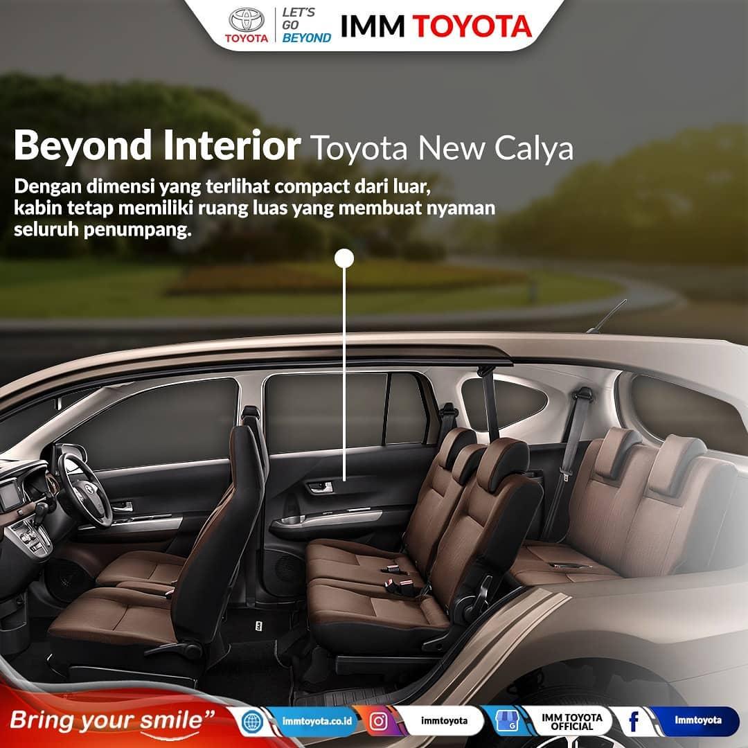 Beyond Interior Toyota New Calya