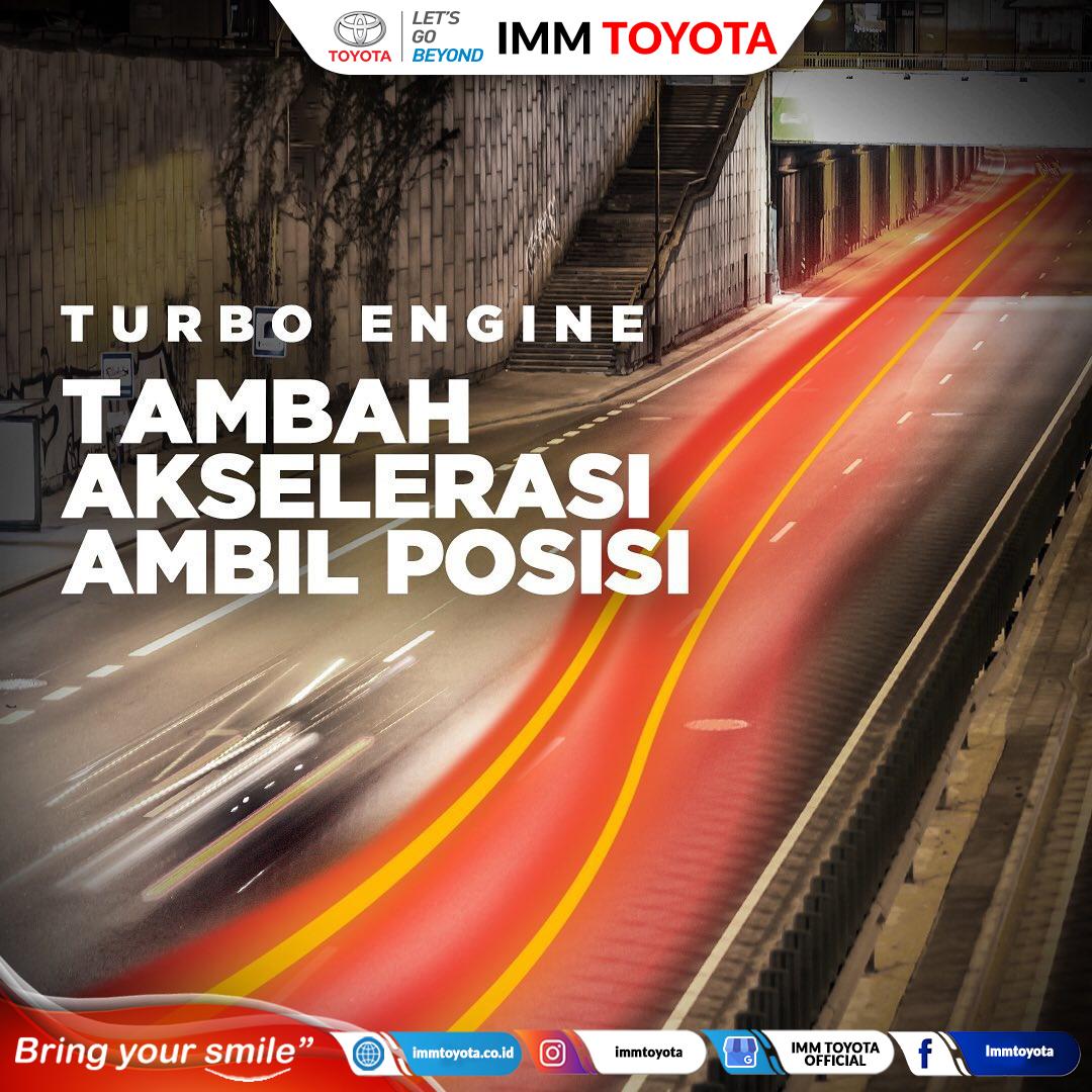 TURBO ENGINE : TAMBAH AKSELERASI AMBIL POSISI