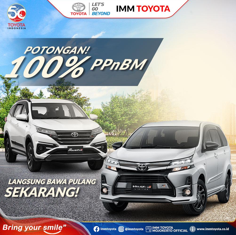 Potongan PPnBM untuk wujudkan mimpi Anda bawa pulang Toyota idaman!